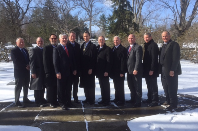 Sigs attend Doug Doskocil Funeral 2017-03-11